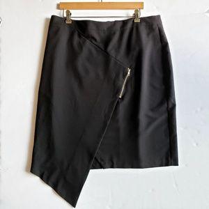 NWT ASOS Pencil Skirt Front Asymmetrical Hem